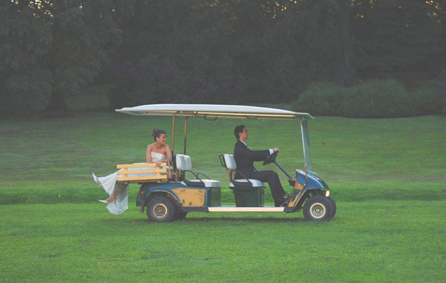 Golf car Villa Zanchi Milano